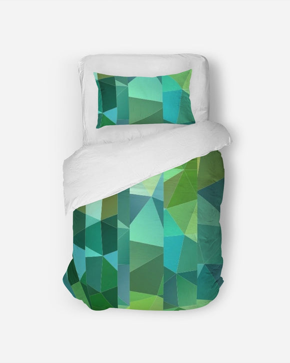 Green Line 101 Twin Duvet Cover Set DromedarShop.com Online Boutique