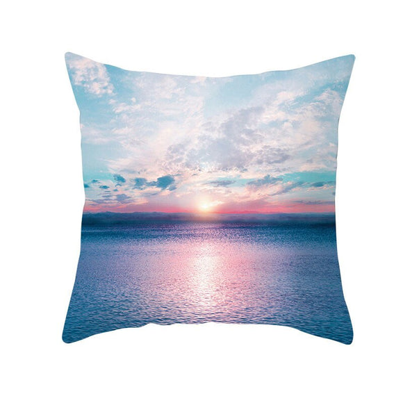 Summer Beach-Throw Pillow Cover-Home Decor Collection DromedarShop.com Online Boutique