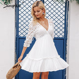 Simplee Elegant  women dress