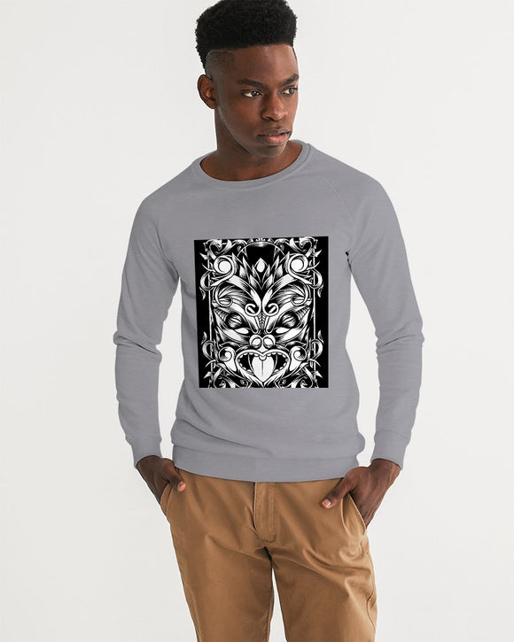 Maori Mask Collection Men's Graphic Sweatshirt DromedarShop.com Online Boutique