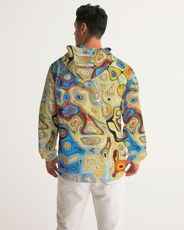 You Like Colors Men's Windbreaker DromedarShop.com Online Boutique