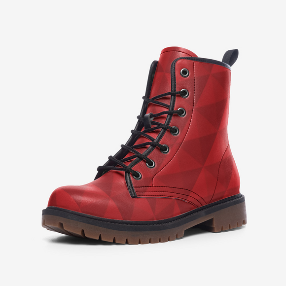 Red Diamond Casual Leather Lightweight Unisex Boots DromedarShop.com Online Boutique