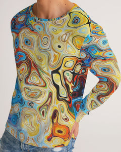You Like Colors Men's Long Sleeve Tee DromedarShop.com Online Boutique