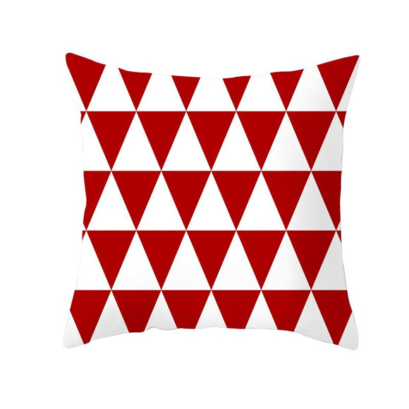 Red Cushon-Throw Pillow Cover-Home Decor Collection DromedarShop.com Online Boutique