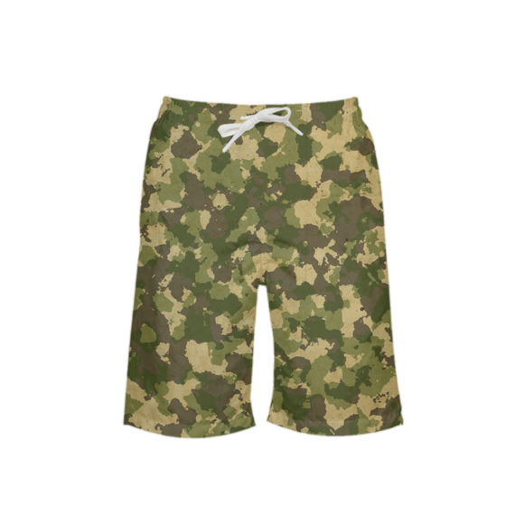 Military USA1 Boy's Swim Trunk DromedarShop.com Online Boutique
