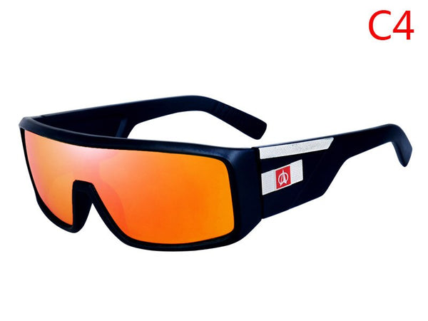 Fashion Sport Unisex Mirror Reflex Sunglasses  UV 400 Protection DromedarShop.com Online Boutique