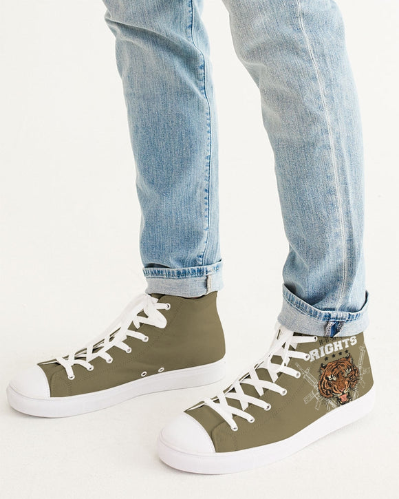 Wolf Men's Hightop Canvas Shoe DromedarShop.com Online Boutique