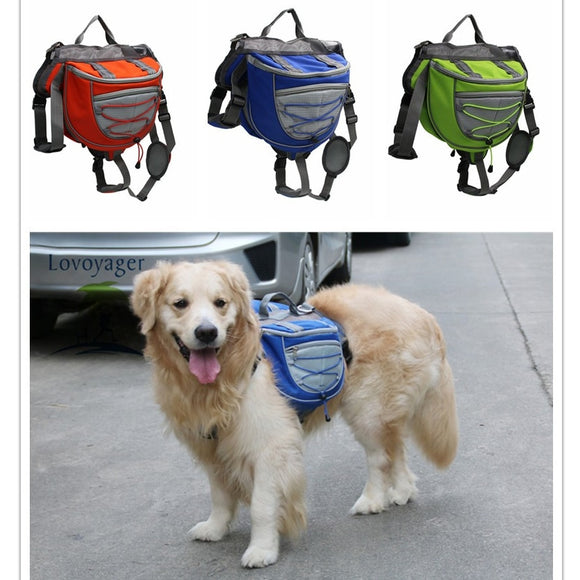 High quality waterproof Pet Backpack Dog saddle Bag - DromedarShop.com Online Boutique