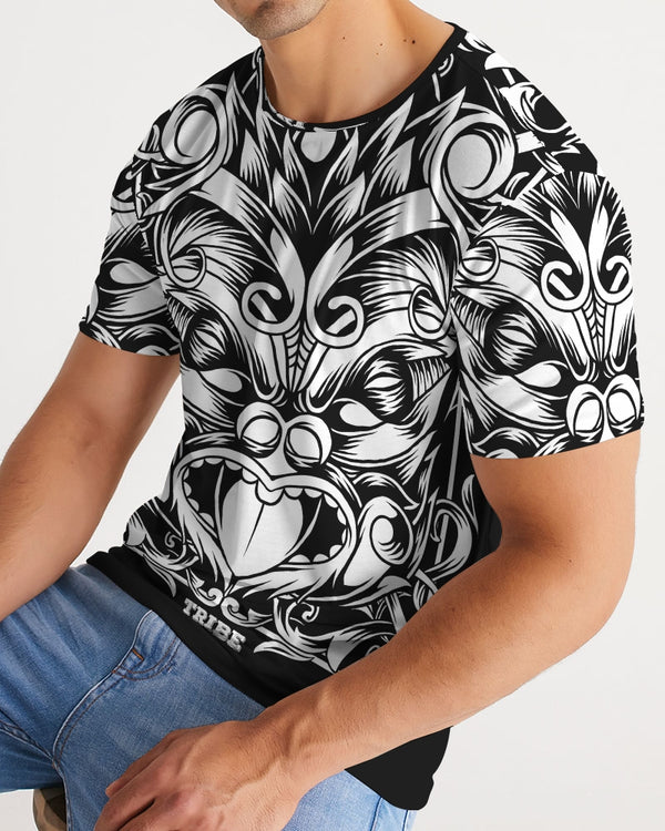 Maori Mask Collection Men's Tee DromedarShop.com Online Boutique