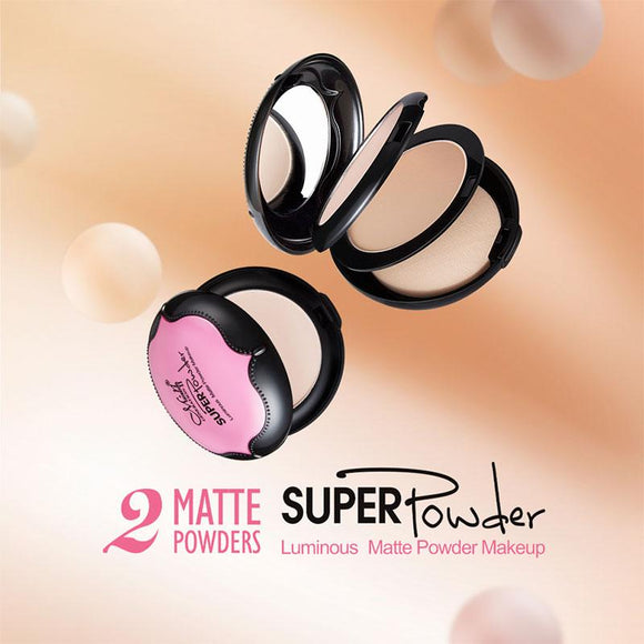 Double Layer Compact Matte Powder
