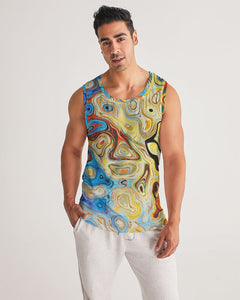 You Like Colors Men's Sports Tank DromedarShop.com Online Boutique