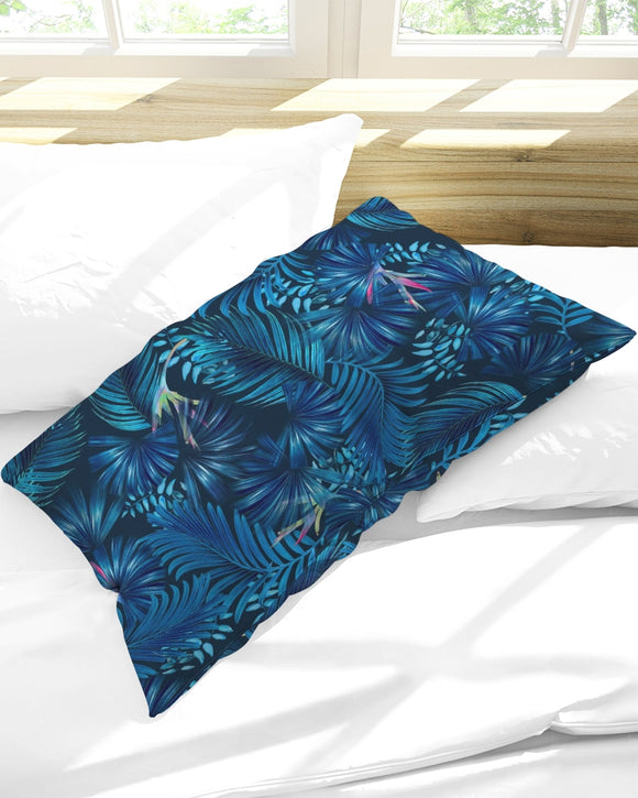 Floliage blue dream Queen Pillow Case DromedarShop.com Online Boutique