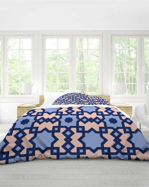 The Miracle of the East Square Arabic pattern  King Duvet Cover Set DromedarShop.com Online Boutique