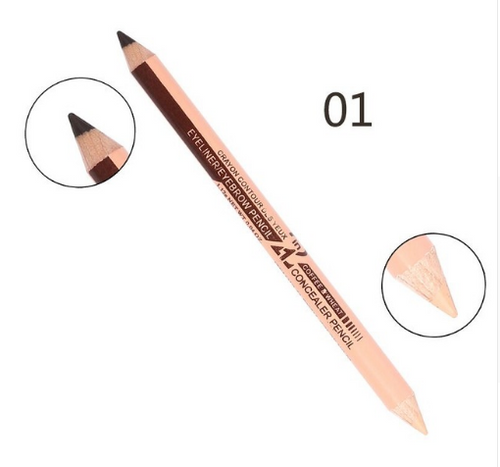 12PCS Concealer&Eyebrow Pencil 2 in 1 Makeup