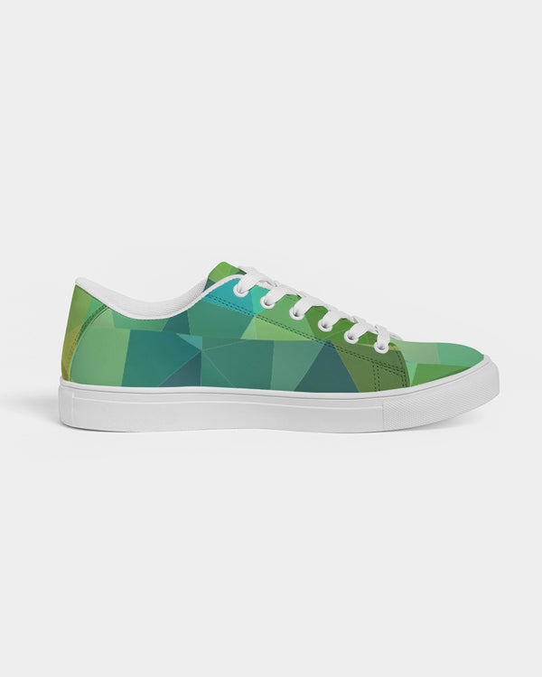 Green Line 101 Men's Faux-Leather Sneaker DromedarShop.com Online Boutique