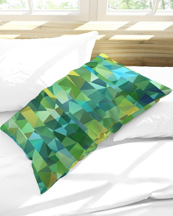 Green Line 101 Queen Pillow Case DromedarShop.com Online Boutique