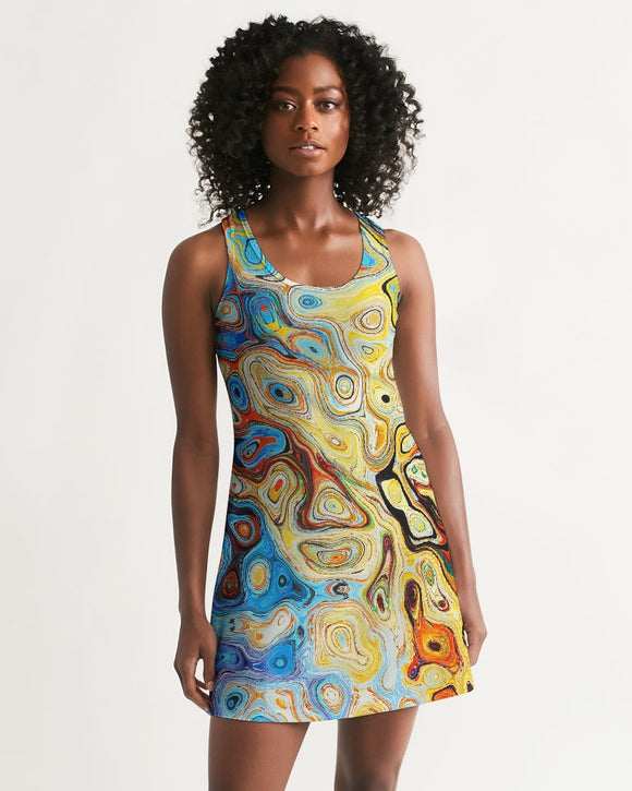 You Like Colors Women's Racerback Dress DromedarShop.com Online Boutique