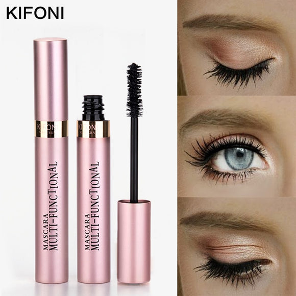 KIFONI Makeup 4D Silk Fiber Lash Mascara Waterproof Black