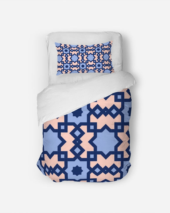 The Miracle of the East Square Arabic pattern  Twin Duvet Cover Set DromedarShop.com Online Boutique
