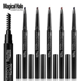 Magical Halo Enhancer Double-end Rotatable Long Lasting Eyebrow Pen DromedarShop.com Online Boutique