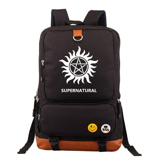 Supernatural School-Backpack DromedarShop.com Online Boutique
