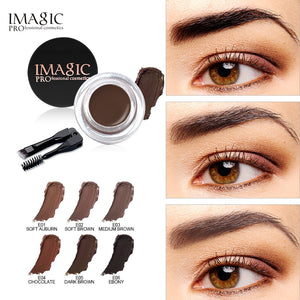 IMAGIC Professional Eyebrow Gel With Brush 6 Colors