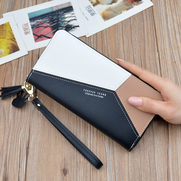 Luxury PU Leather Wallets for Women DromedarShop.com Online Boutique
