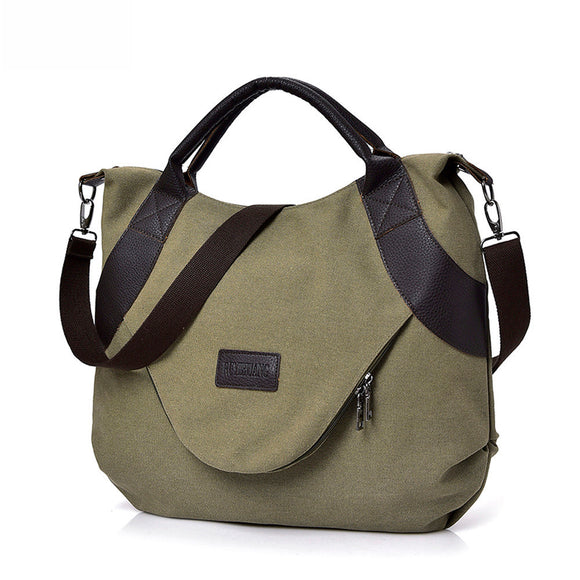 Summer Women Canvas Shoulder Bag DromedarShop.com Online Boutique