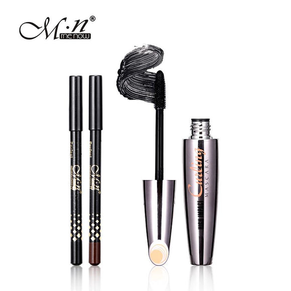 Mascara with 2pcs Eyebrow Pencil - DromedarShop.com Online Boutique