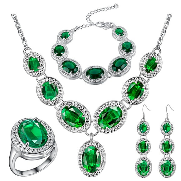 925 Sterling Silver Jewelry Sets - DromedarShop.com Online Boutique