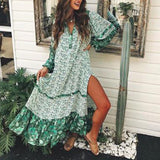 Retro Bohemian Maxi Dress - DromedarShop.com Online Boutique