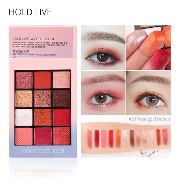 HOLD LIVE  Eye Shadow Palette 12 Colors