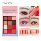 HOLD LIVE  Eye Shadow Palette 12 Colors - DromedarShop.com Online Boutique