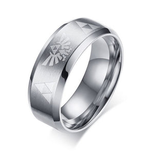 Men's Women's The Legend Of Zelda Triforce Ring DromedarShop.com Online Boutique