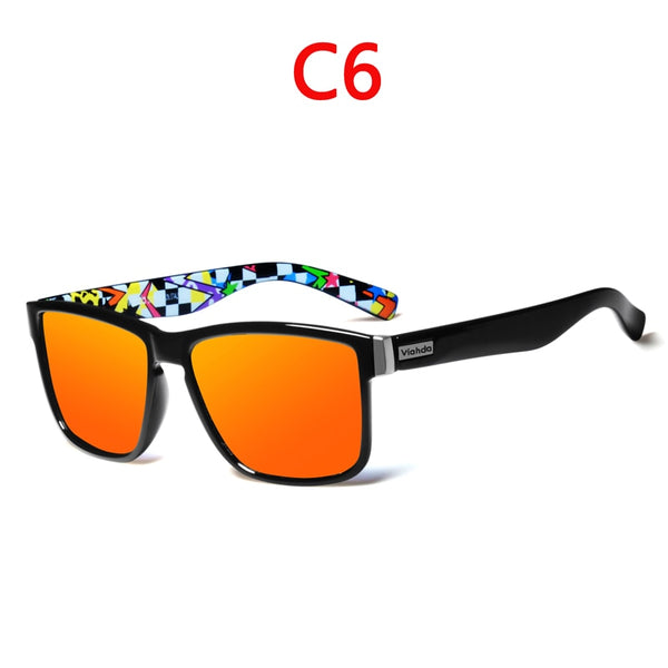 Polarized Unisex Sport Sunglasses UV 400 Protection DromedarShop.com Online Boutique