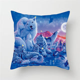 Animal Painting -Throw Pillows-Home Decor Collection DromedarShop.com Online Boutique