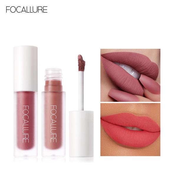 Waterproof Cosmetic Matte Velvet Lip Makeup Sexy Liquid Lip Gloss DromedarShop.com Online Boutique