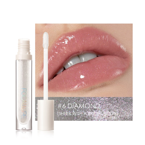PLUMP-MAX Nourish Lip Glow Shimmer Glossy All-Day Water Locking Glitter Lip Gloss DromedarShop.com Online Boutique