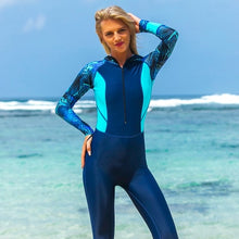 Sbart Long Sleeve Hooded  Surfing  Diving Quick Dry Swimsuit