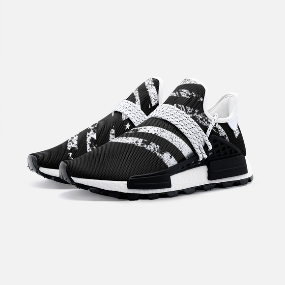 USA Black Flag Unisex Lightweight Sneaker S-1 Boost DromedarShop.com Online Boutique