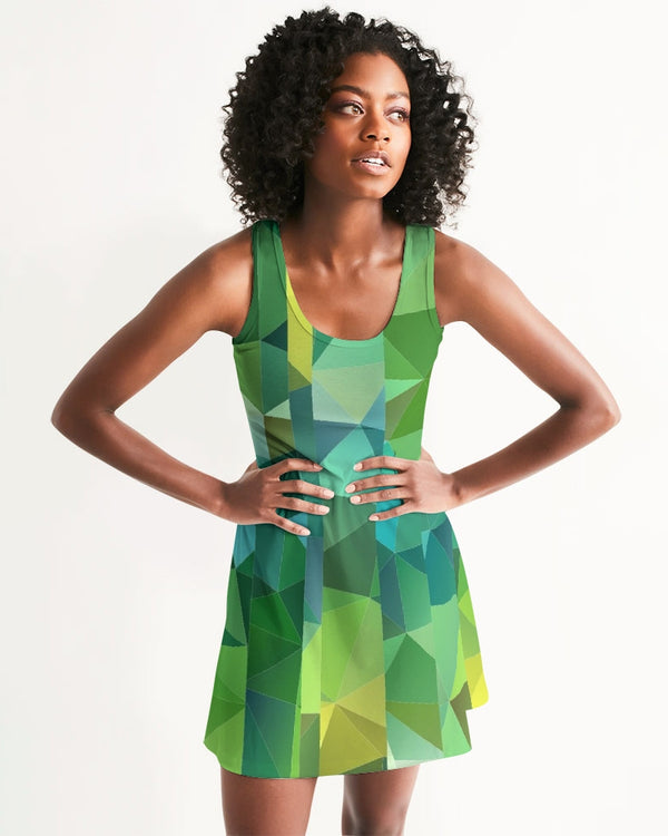 Green Line 101 Women's Racerback Dress DromedarShop.com Online Boutique