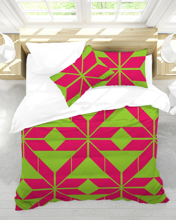 Aztec-Inka Collection Queen Duvet Cover Set DromedarShop.com Online Boutique