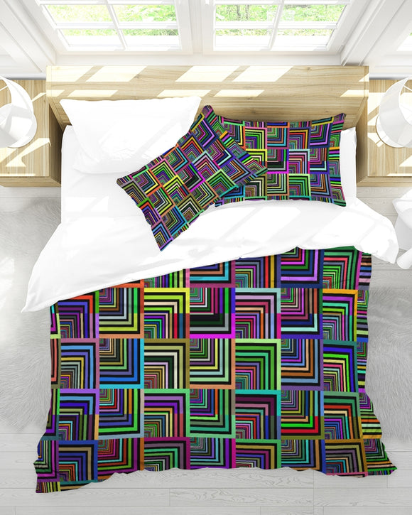 Pepita Design Collection Pepita Rainbow King Duvet Cover Set DromedarShop.com Online Boutique