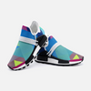Abstract Colorful Triangle Unisex Lightweight Sneaker S-1 Boost DromedarShop.com Online Boutique