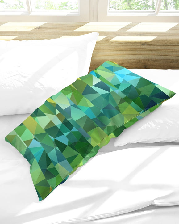 Green Line 101 King Pillow Case DromedarShop.com Online Boutique