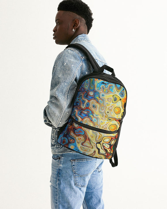 You Like Colors Small Canvas Backpack DromedarShop.com Online Boutique