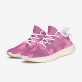 Pink Puzzle Camouflage Unisex Lightweight Sneaker YZ Boost DromedarShop.com Online Boutique