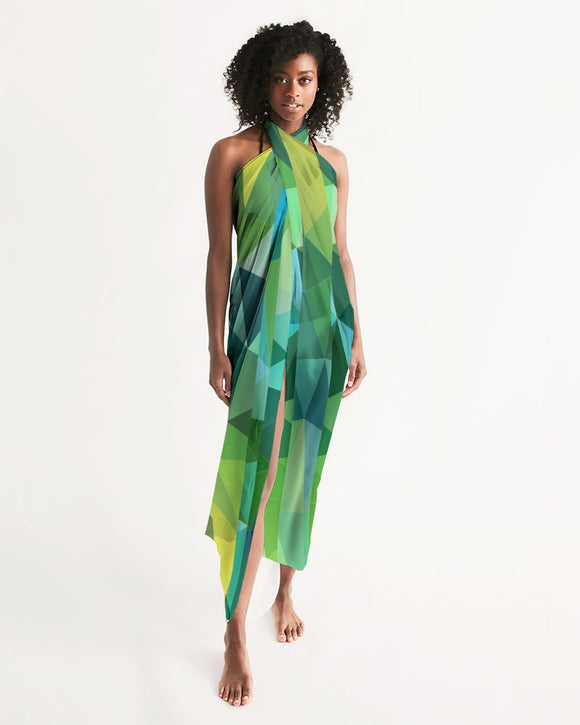 Green Line 101 Swim Cover Up DromedarShop.com Online Boutique
