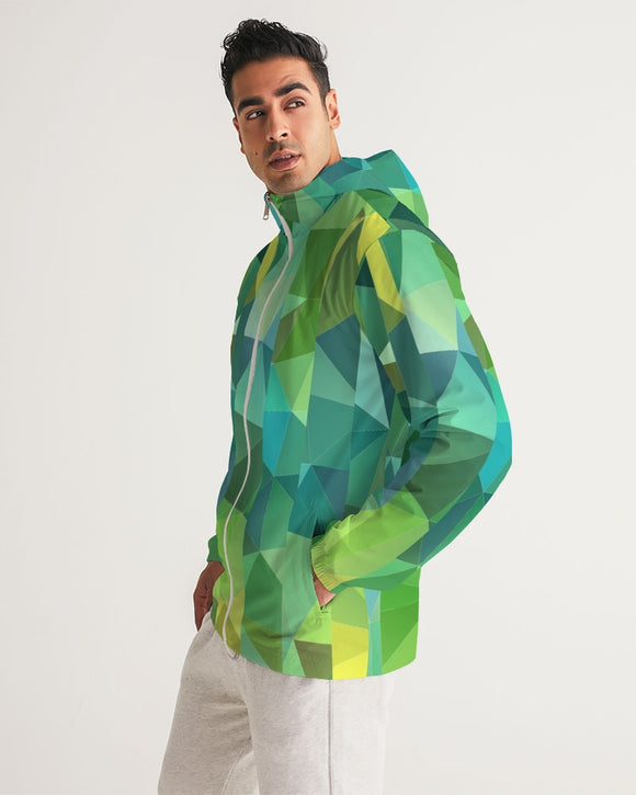 Green Line 101 Men's Windbreaker DromedarShop.com Online Boutique