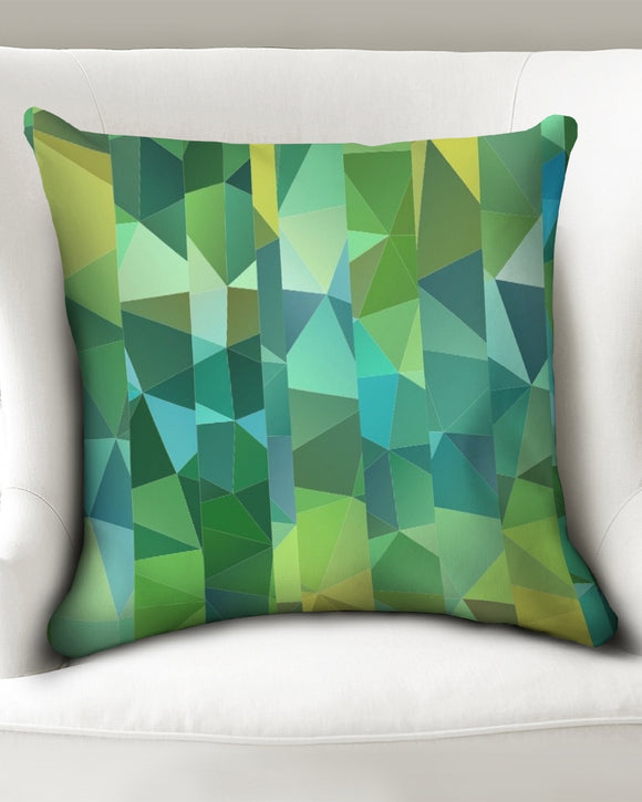 Green Line 101 Throw Pillow Case 20